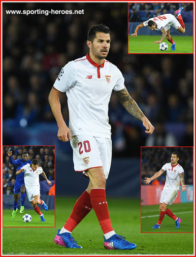 "Victor ""Vitolo"" PEREZ - Sevilla - 2016/17 Champions League. Knock out games."