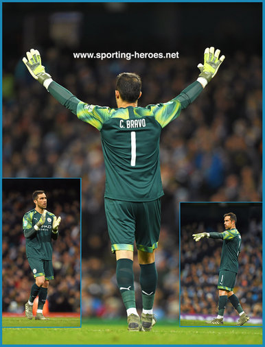 Claudio Bravo - Manchester City FC - Premier League Appearances