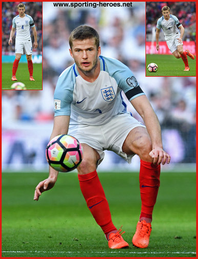 Eric DIER - England - 2018 FIFA World Cup qualifying games.