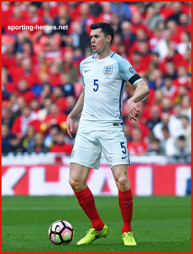 Michael KEANE - England - 2018 FIFA World Cup qualifying games.