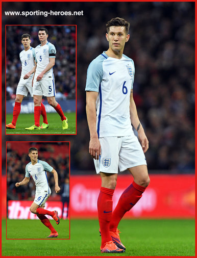 John STONES - England - 2018 FIFA World Cup qualifying games.