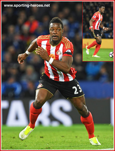 Lamine KONE - Sunderland FC - League Appearances