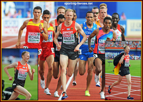 Richard RINGER - Germany - 5,000m bronze medal at 2016 European Championships.