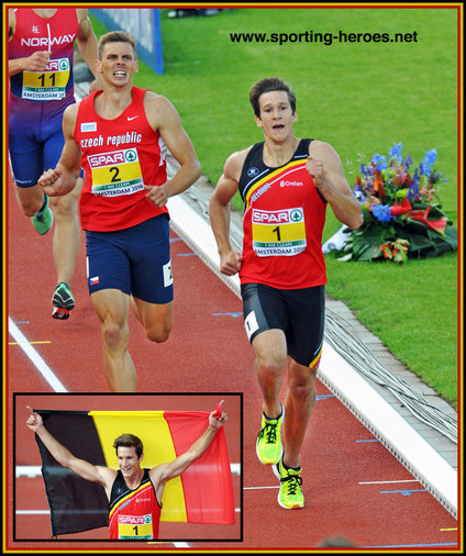 Thomas Van der PLAETSEN - Belgium - 2016 European decathlon champion