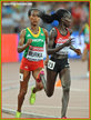 Gelete BURKA - Ethiopia - 10,000m Silver medal at 2015 World Championships.