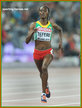 Senbere TEFERI - Ethiopia - Silver medal in 5000m at 2015 World Championships.