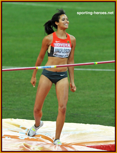 Marie-Laurence  JUNGFLEISCH - Germany - Sixth in the high jump at 2015 World Championships.
