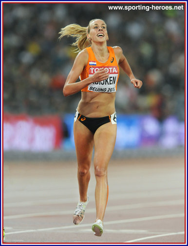 Susan KUIJKEN - Netherlands - 8th in 5,000m at 2015 World Championships.