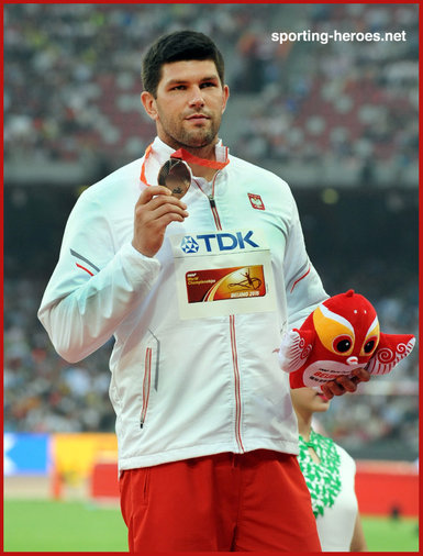 Robert URBANEK - Poland - Bronze medal at 2015 World Championships.