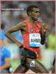 Mohammed AHMED - Canada - 4th. in 5000m at 2016 Olympic Games.