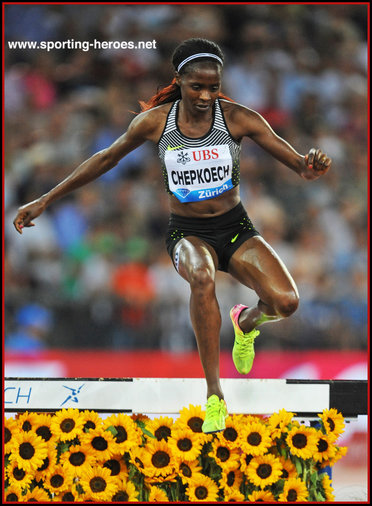 Beatrice  CHEPKOECH - Kenya - Fourth at 2016 Olympic Games in Rio.