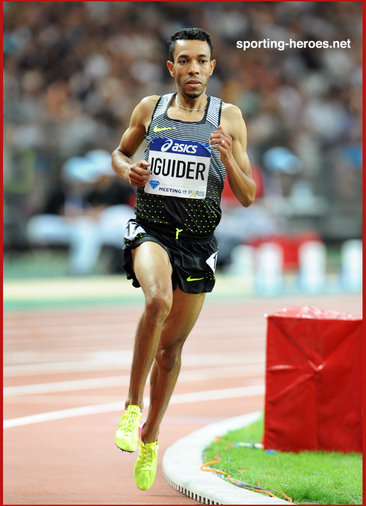 Abdalaati Iguider - Morocco - Fourth in 1500m at 2016 Olympic Games.