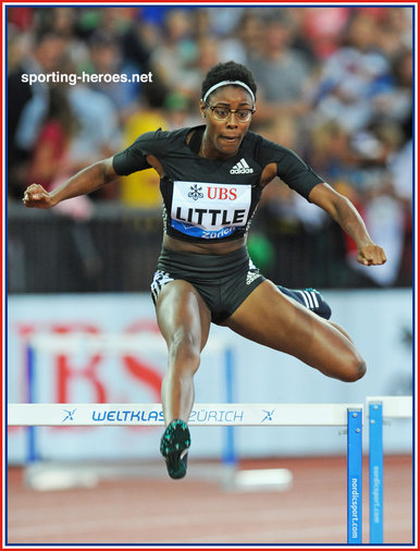 Shamier LITTLE - U.S.A. - 400m hurdles silver medal at 2015 World Championships.