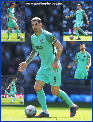 Lewis DUNK - Brighton & Hove Albion - League Appearances
