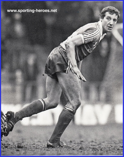 Sammy Nelson - Brighton & Hove Albion - League appearances