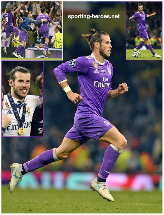 2a50e33c1fc Gareth BALE - 2017 EUFA Champions League Final. - Real Madrid