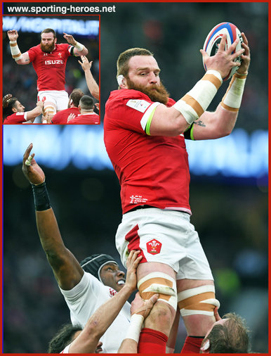 Jake BALL - Wales - International rugby caps.