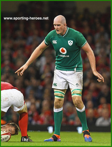Devin Toner - Ireland (Rugby) - International rugby caps.