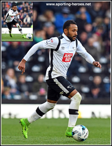 Ikechi ANYA - Derby County FC - League Appearances