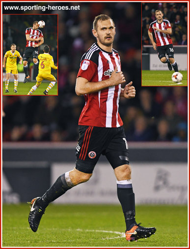 James HANSON - Sheffield United - League Appearances