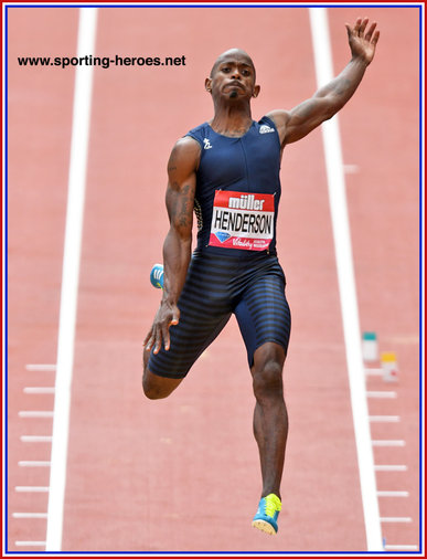 Jeff HENDERSON - U.S.A. - 2016 Olympic long jump champion.