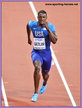 Justin GATLIN - U.S.A. - 2017 World 100 metres Champion.