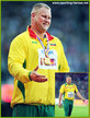 Andrius GUDZIUS - Lithuania - 2017 World Championships discus throw Gold Medal.