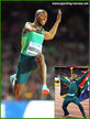 Luvo MANYONGA - South Africa - 2017 World men's long jump champion.