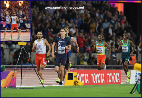 Pierre-Ambrois BOSSE - France - 2017 World Championship 800 metres Champion.
