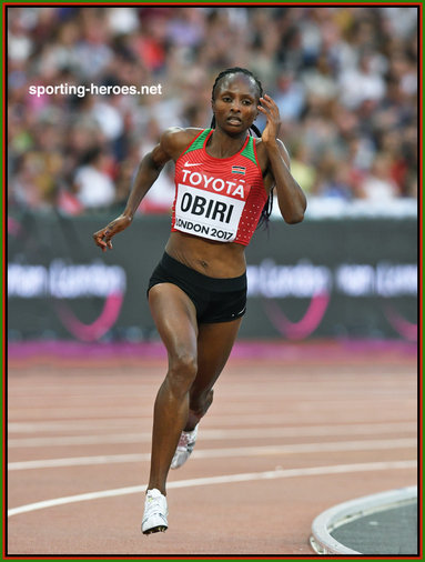 Hellen Onsando OBIRI - Kenya - Women's 5,000m World Champion in 2017.