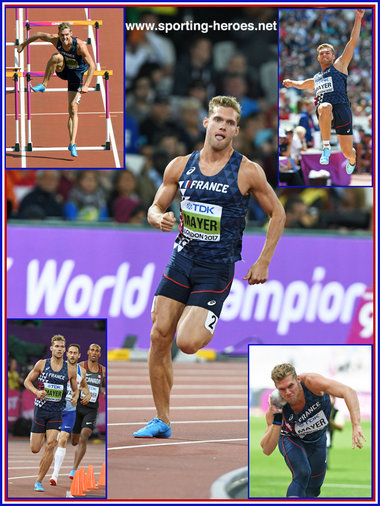 Kevin MAYER - France - 2017 World Decathlon Champion.