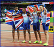 Adam GEMILI - Great Britain - 4x100m relay Gold medal at 2017 World Championships.