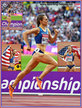 Jennifer SIMPSON - U.S.A. - Silver medal at 2017 World Championships 1500m