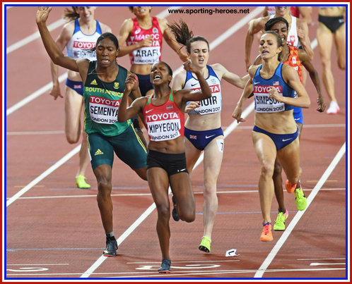 Laura MUIR - Great Britain - Fourth in 2017 World Championships 1500m final.