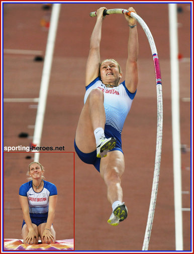 Holly BRADSHAW - Great Britain - Sixth in 2017 World Championships P.V. Final.