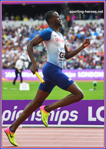 Rabah YOUSIF - Great Britain - 2017 World Championships 4x400m bronze medal.