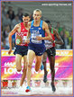 Evan JAGER - U.S.A. - Third in 3,000m steeplechase at 2017 World Championships.