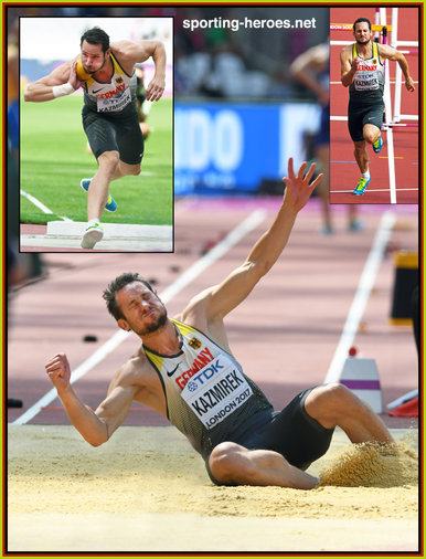Kai KAZMIREK - Germany - Bronze medal 2017 World Championships decathlon.