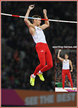 Piotr LISEK - Poland - Pole vault silver medal at 2017 World Championships.