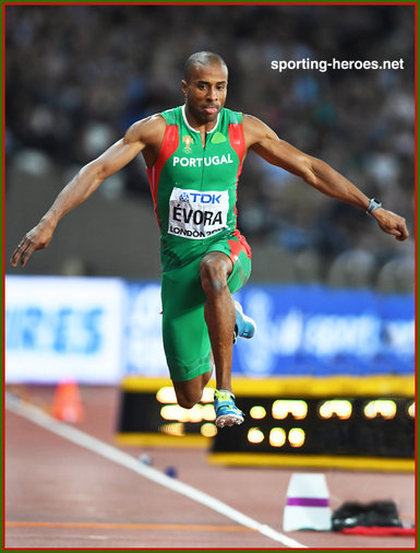 Nelson Evora - Portugal - Triple jump bronze medal at 2017 World Championships.