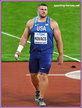 Joseph KOVACS - U.S.A. - Shot put silver medal at 2017 World Championships.