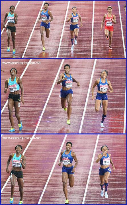Shaunae MILLER-UIBO - 2017 World Championships finalist