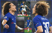 David LUIZ - Chelsea FC - 2017/18 Champions League.