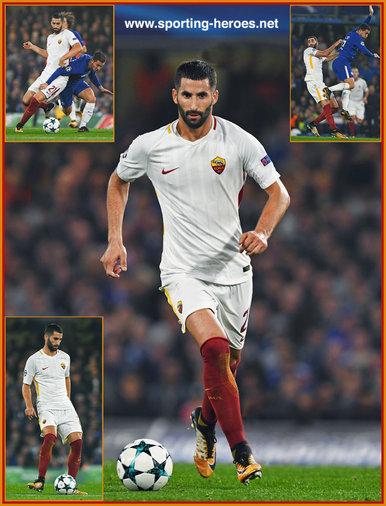 Maxime Gonalons - Roma  (AS Roma) - 2017/18 Champions League.
