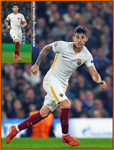 Diego PEROTTI - Roma  (AS Roma) - 2017/18 Champions league.