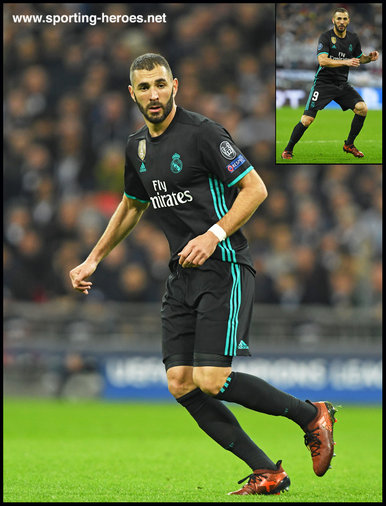 Karim Benzema - Real Madrid - 2017/18 Champions League. Group H.