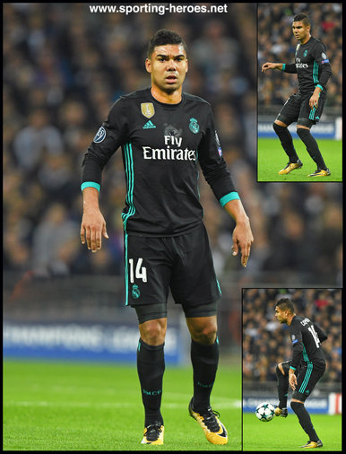 CASEMIRO - Real Madrid - 2017/18 Champions League. Group H.