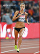 Melissa BISHOP - Canada - 5th. in 800m at 2017 World Championships.