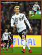 Julian BRANDT - Germany - 2018 World Cup Qualifying games.