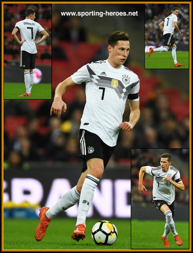 Julian DRAXLER - Germany - 2018 World Cup Qualifying games.